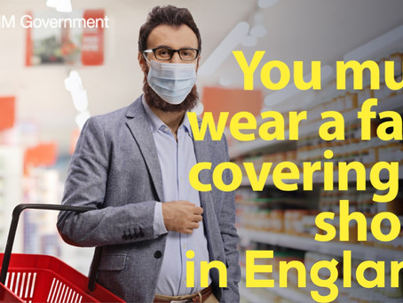Mandatory face coverings in shops in England | Will Northern Ireland be next?