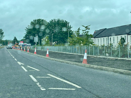 Anger over removal of bus lay-by outside Ballymena school