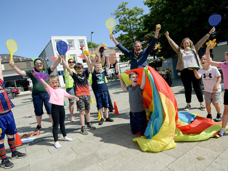 A summer of fun as pop-up play sessions take place across Mid and East Antrim