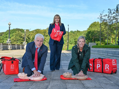 CPR training to become part of post primary school curriculum from 2022/23 in NI