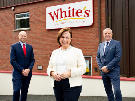 Economy Minister announces £1million export success for White's Speedicook