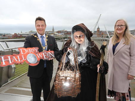 Londonderry prepares to 'Awaken the Walled City' with thrilling Halloween programme