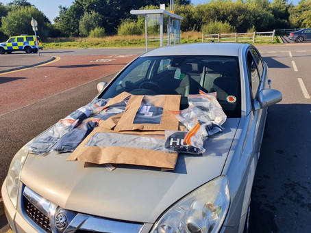 Two arrested for theft and vehicle seized by ANPR Interceptor Team