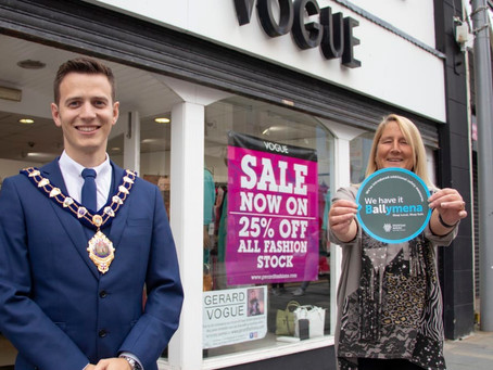 New stickers 'a mark of confidence for consumers' in Mid and East Antrim