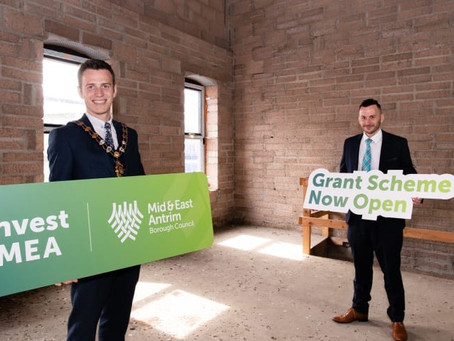 Town Centre property revamp scheme now open in Mid and East Antrim
