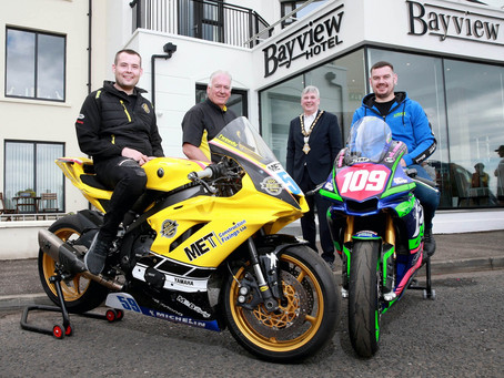 """Road Racers Todd and Thompson """"Excited"""" for Armoy Races"""