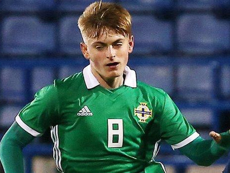 Ballymena United 'absolutely delighted' to announce the loan signing of Ben Wylie