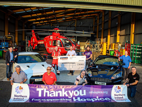 Supercar Sunday is a roaring success raising over £54,000 for local charities