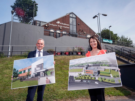 £10million investment in construction of new train station for York Street