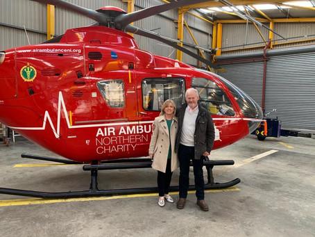 Air Ambulance NI | John's story of near-death cardiac arrest in cattle field