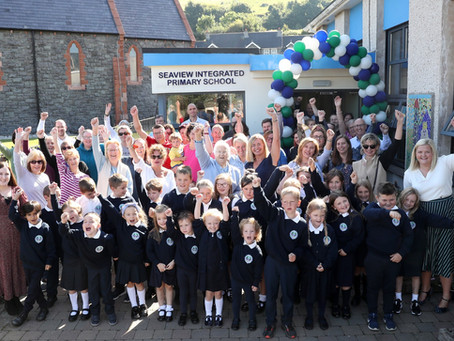 A new term means a fresh start for Seaview Integrated Primary School in Glenarm