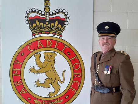 Army Cadet Force community champion from Co Antrim recognised by Prime Minister's awards