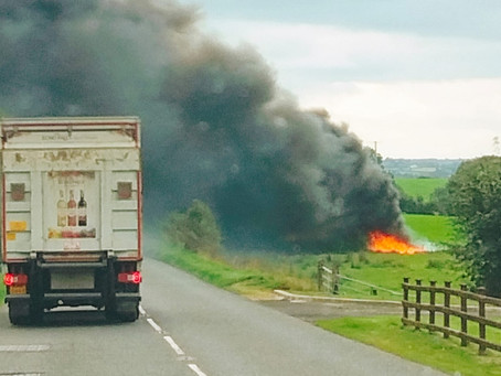 Emergency services attend major incident outside Ballymena