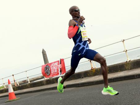 Warm welcome awaits Sir Mo at Antrim Coast Half Marathon