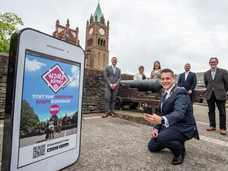 Council AR app to bring historic Derry City Walls to life