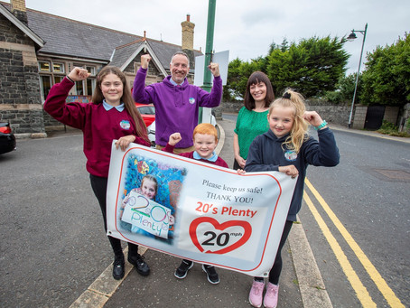 20's PLENTY | Roll out of 20mph speed limit schemes at 106 schools in Northern Ireland