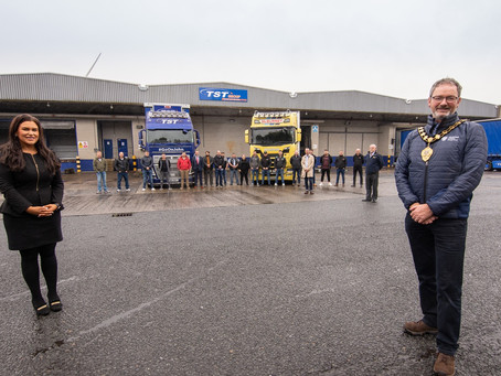 Council sets wheels in motion with HGV Driver's Academy