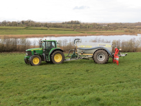 NI Water reminds farming community to protect our watercourses when spreading slurry