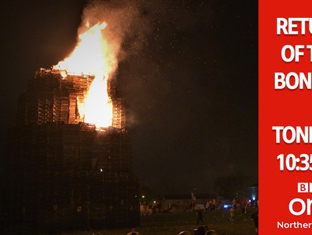 Local TV | Return of the Bonfire - communities from the Greater Shankill area prepare for 11th night