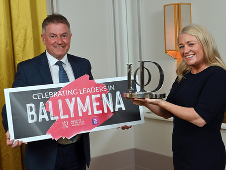 Institute of Directors NI launches 2021 search for Ballymena's top Directors