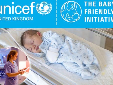 Antrim Hospital Neonatal Unit gains UNICEF Baby Friendly Award