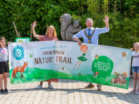 New magical adventure trail opens at Carnfunnock