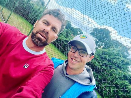 Onward and upward for Ballymena's Bazz seeking to inspire Ireland's next generation of tennis stars