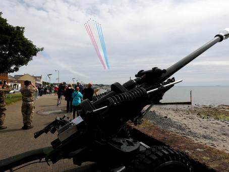 Armed Forces Day Regional celebrations get underway in Carrickfergus