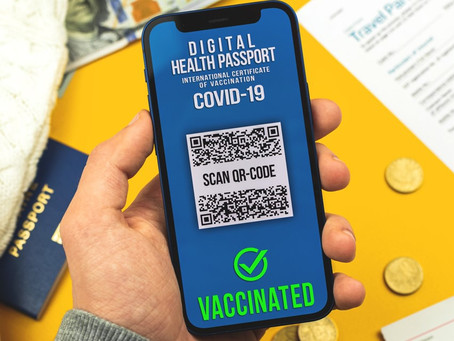 Interim digital vaccine certificates available to download at home