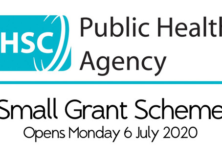 Small Grant Funding Scheme opening for applications