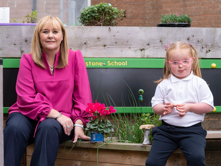 Major investment for outdoor play and learning in special schools in Northern Ireland