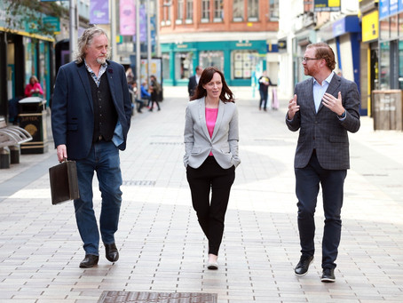 Mallon focused on reshaping and improving towns and cities for all