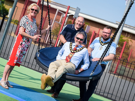 Brighter play days ahead for children of Mid and East Antrim
