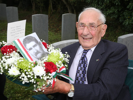 Family's relief as new memorial stone at Bonamargy Friary marks final resting place of WWII internee