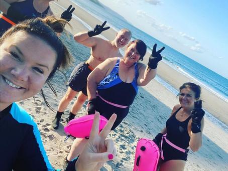 Larne woman making a splash for mental health