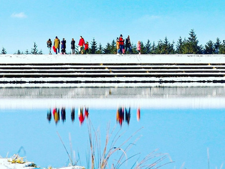 """""""It's sNOw fun!""""   NI Water reopens Killylane after closure due to crowds attracted by snow"""
