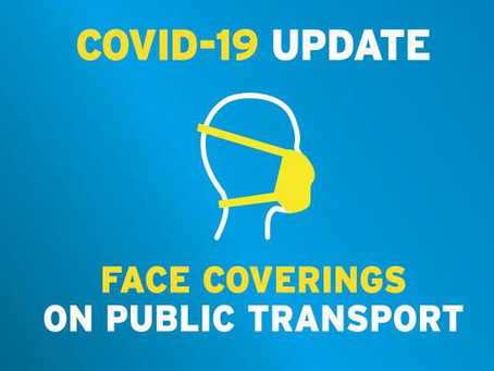 Face coverings to be mandatory on NI public transport from July 10