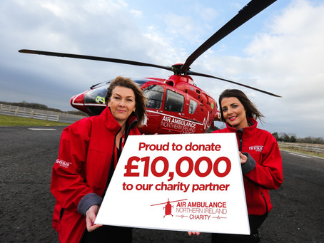 Air Ambulance NI thanks corporates support during covid-19