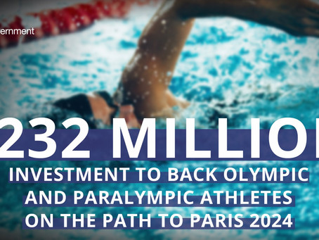 £232 million investment to support GB & Northern Ireland athletes path to Paris 2024 Olympics