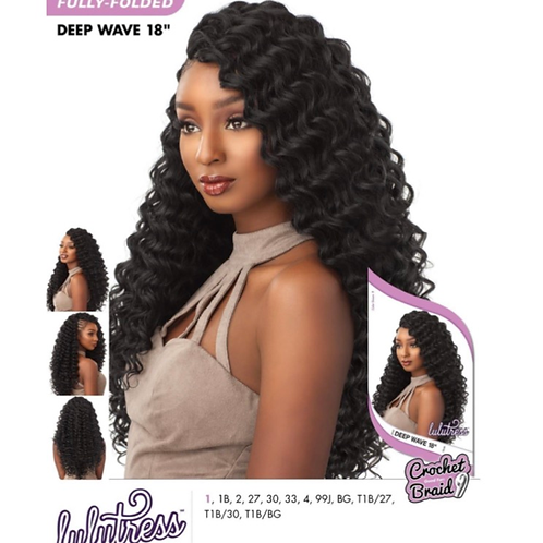 Deep Wave Crochet