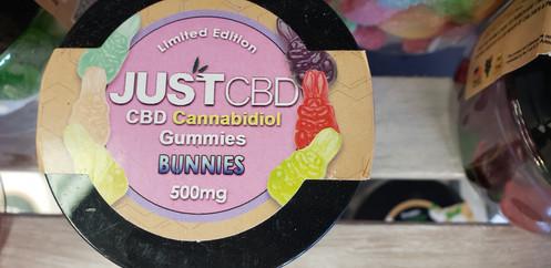 JUSTCBD Gummy Bunnies 500mg