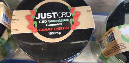 JUST CBD Gummy Cherries 1000mg