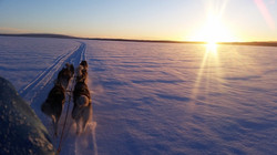Fahrt über den Sndsjön
