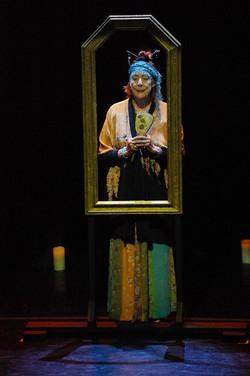 The Sun Goddess & the Mirror.