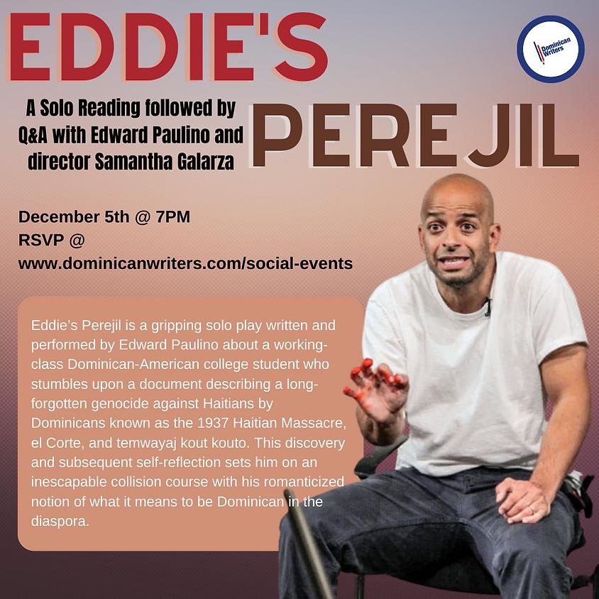 A Solo Reading: Eddie's Perejil