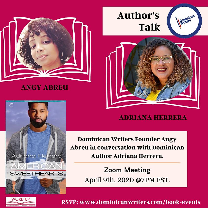 Author's Talk with Adriana Herrera