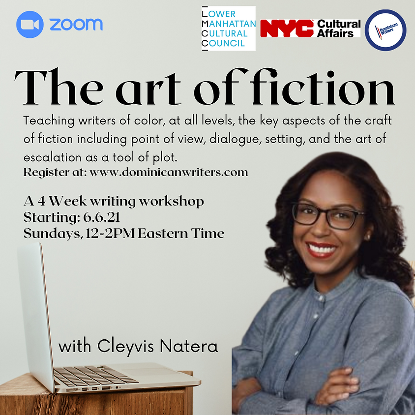 The Art of Fiction w/ Cleyvis Natera