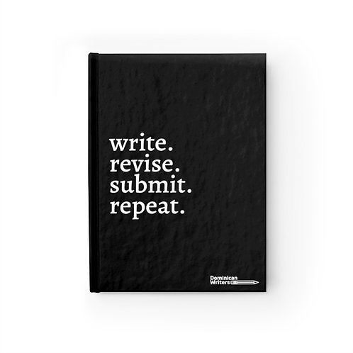 write.revise.submit.repeat.-Journal - Ruled Line
