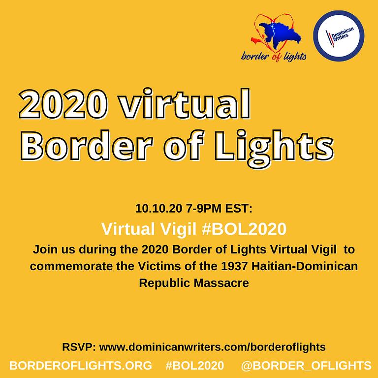 Virtual Vigil #BOL2020