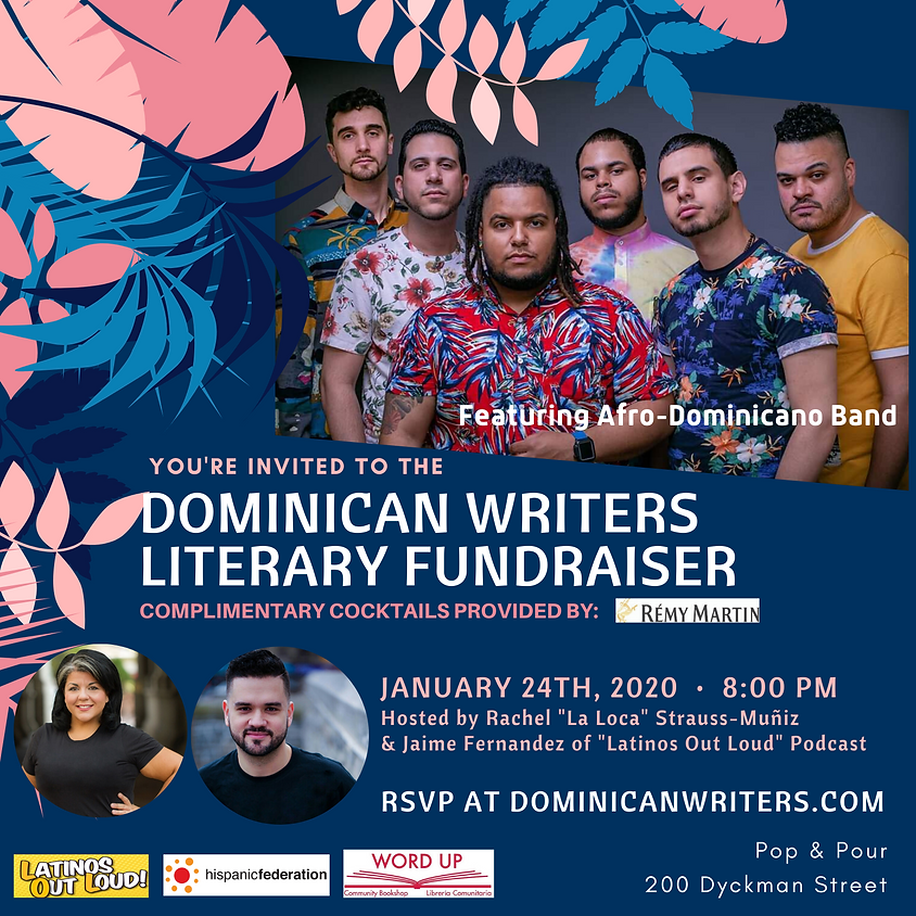 Dominican Writers Literary Fundraiser